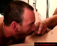 Straight Mature Bear Try Cock Sucking - scene 4