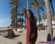 Alberto Fucked Julias Juicy Round Ass At The Beach - scene 1