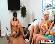 Explicit Foursome Fucking - scene 1