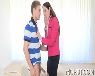 Hot Threesome With A Lusty Mum - scene 11