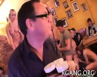 Men And Gals On Sex Party - scene 3
