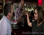 Perv Makes His Stunning Brunette Wife Meet Shane Diesel - scene 3