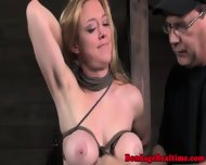 Pathetic Submissive Gets Tits Bound - scene 6