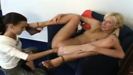 Blonde gets fisted - scene 6