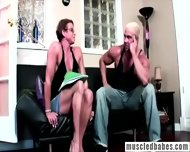 Muscled Milf Shows Her Body - scene 1