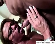 Muscled Milf Shows Her Body - scene 8