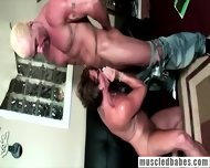 Muscled Milf Shows Her Body - scene 10