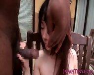 Petite Japanese Schoolgirl Gets A Cummouthful - scene 9