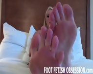 Rub Our Feet While Lusting Over Our Pedicure - scene 7