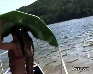 Group Of Czech Lesbians On Boat Having Oral Sex - scene 2