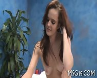 Hot Babe Massages Dick With Lips - scene 3