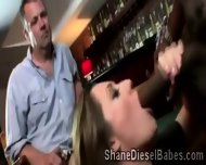Brooklyn Jade Pleases Shane In Front Of Her Husband - scene 1