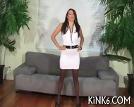 Hot Action In Black Pantyhose - scene 1