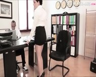 Busty Valentina Nappi Likes Getting Her Pussy In The Office - scene 2