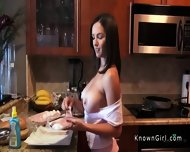 Huge Tits Girlfriend Fucking Homemade Pov - scene 1