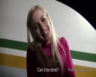 Lady Boss Banged Pov In Car Shop For Cash - scene 4