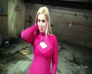 Lady Boss Banged Pov In Car Shop For Cash - scene 5