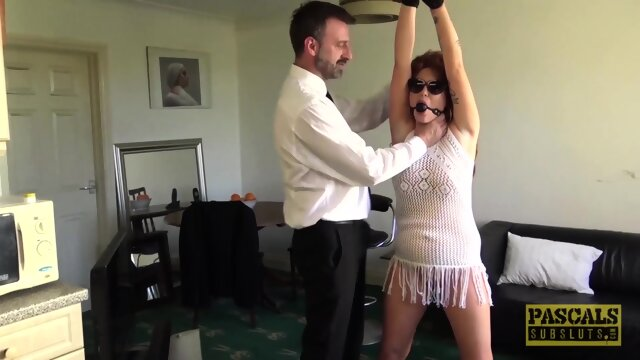 PASCALSSUBSLUTS – Redhead Ashleigh DeVere Hammered by Pascal