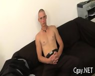 Lubricous Blowjob For Gay Stud - scene 7