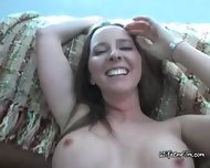 Slut With Big Tits Teases And Blows Kinky Husband - scene 3