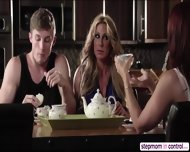 Stepmom Janet Mason And Bestfriend Farrah Dahl In Threesome Sex - scene 3