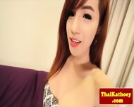 Bigtitted Ladyboy Teases Sensually - scene 1