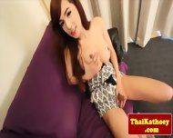 Bigtitted Ladyboy Teases Sensually - scene 3