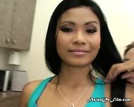 Asian Masseuse Priva Giving Client Blowjob - scene 4