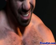 Hairy Gay Hunk Giving Stripper A Facial - scene 8