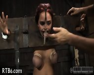 Painful Facial Torture For Babe - scene 1