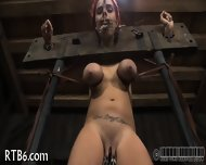 Painful Facial Torture For Babe - scene 8