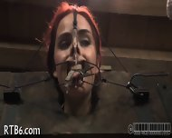 Painful Facial Torture For Babe - scene 7