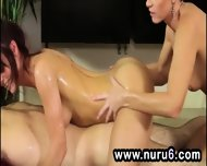 Lusty Threesome Nuru Massage - scene 8
