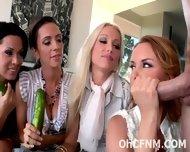 Hot Horny Ladies Share A Swollen Cock - scene 6