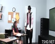 Schoolgirl Behaving Badly - scene 1