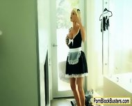 Big Boobs Blondie Maid Jesse Jane Fucked Hard By Her Master - scene 2