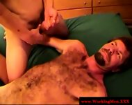 Hairy Straight Redneck Gets Cumshot - scene 10