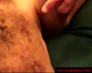 Hairy Straight Redneck Gets Cumshot - scene 2