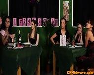 Femdom Cfnm Reverse Gang Bang - scene 3
