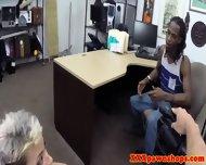 Real Ebony Pawnshop Amateur Fucked - scene 6