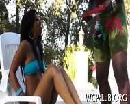 Ebony Pal Bangs White Gal - scene 1