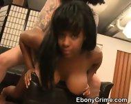 Black Slut From The Hood Taking Very Rough Pounding - scene 12