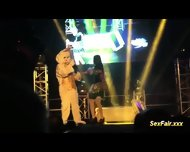 Doll Has Live Show With Bunny - scene 8