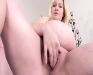 Fat Blondie And Her Vagina - scene 5