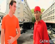Black Gay Fucks White Pal - scene 7