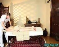 Small Tit Babe Massaged - scene 1