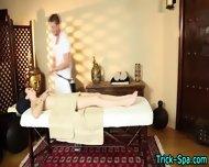 Small Tit Babe Massaged - scene 11