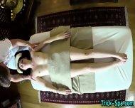 Small Tit Babe Massaged - scene 12