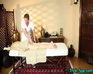 Small Tit Babe Massaged - scene 7