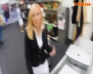 Nasty Blonde Milf Pawns Her Pussy And Got Fucked Real Good - scene 2